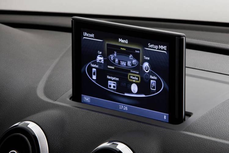 Sistema MMI del nuevo Audi A3 2012