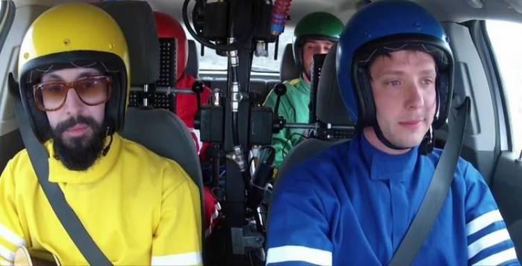 OK Go y su vídeo musical, o cómo hacer música con un coche
