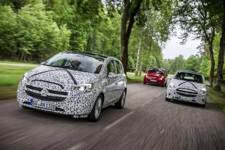 Nuevo Opel Corsa: imágenes camuflado