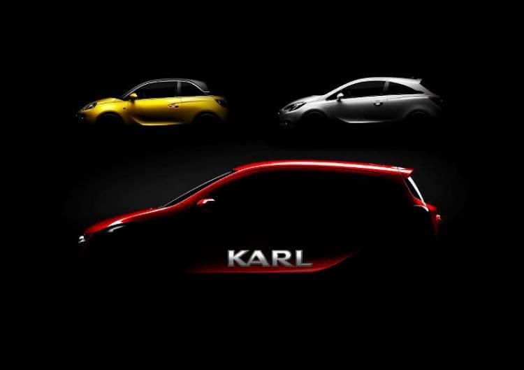 Opel Karl 2015: Opel nos sorprende con un nuevo modelo pequeño ¿es el sucesor del Agila?