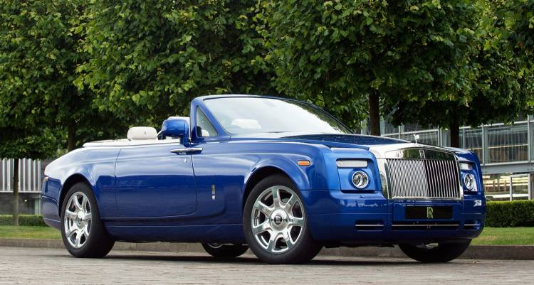 Rolls-Royce Phantom Drophead Coupé Masterpiece