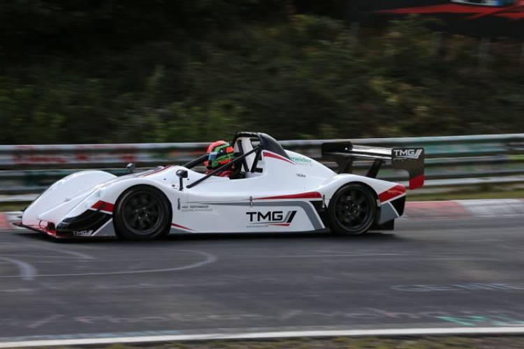 Toyota marca un nuevo record en Nürburgring para vehículos eléctricos con el TMG EV P002