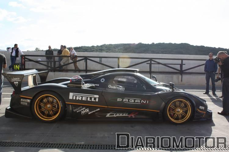 Presentación Pagani Zonda R en el Circuito de Ascari