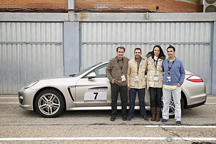 Javier Molto, Sara Soria, Diego Zotes y Pepe Giménez