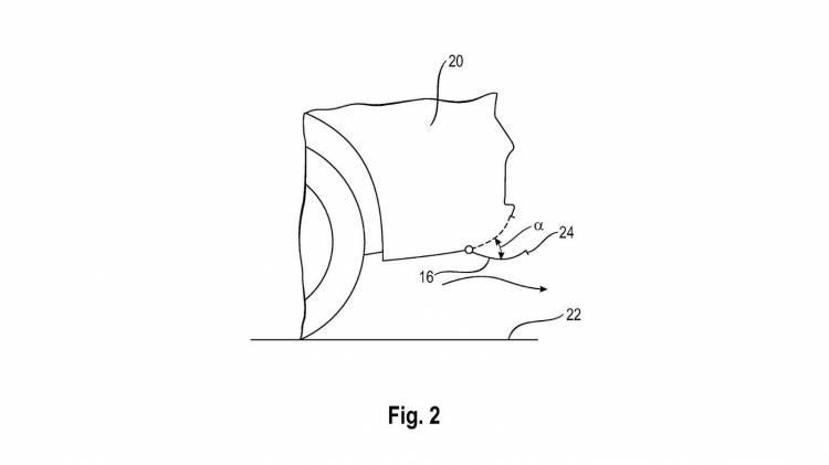 Patente difusor trasero activo Porsche_3