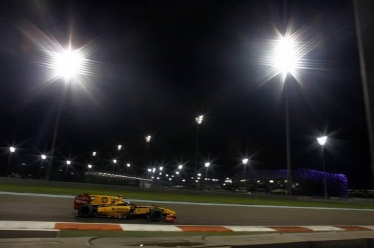 Petrov (Renault) - GP Abu Dhabi 2010