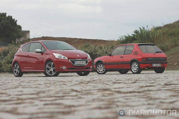 Peugeot 205 GTI vs 208 GTi