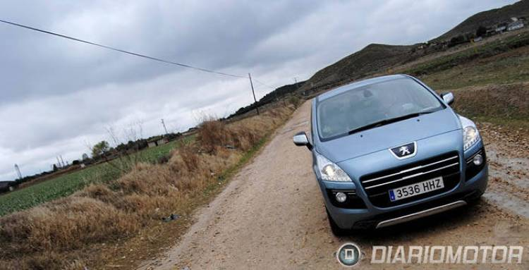 Peugeot 3008 Hybrid4, presentación y toma de contacto en Madrid