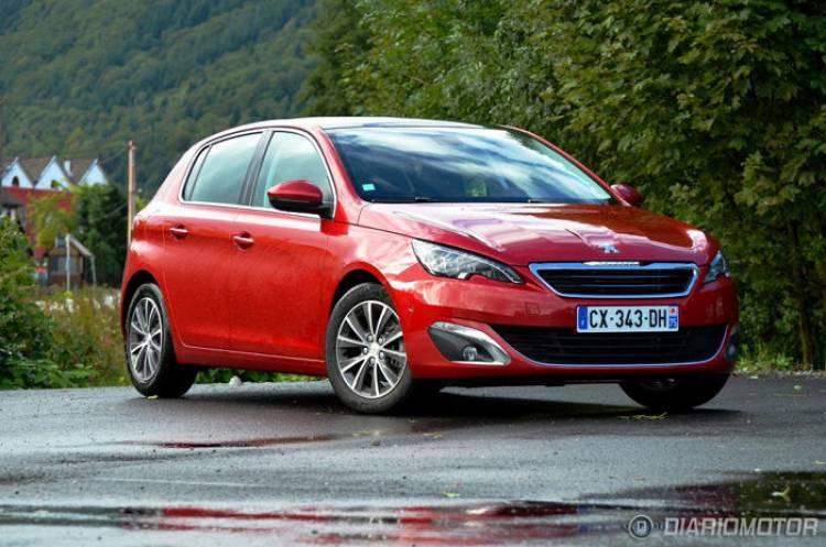 Peugeot 308, presentación y prueba en Francia