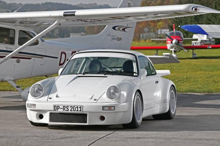 Porsche 911 de 1973 en fibra de carbono por DP Motorsports