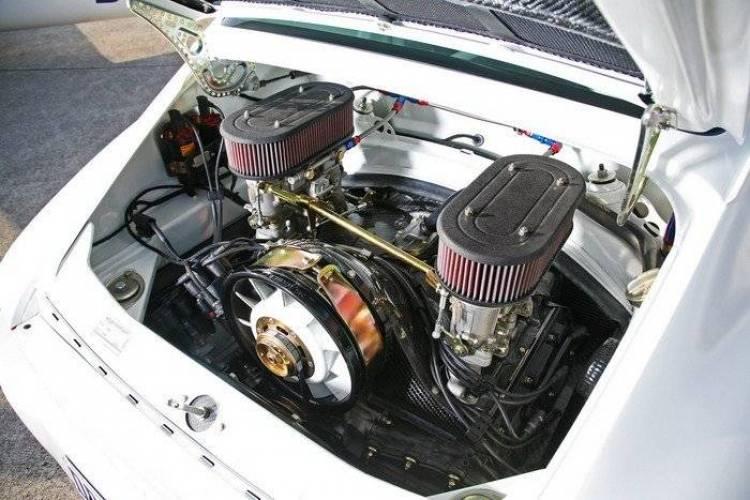 Porsche 911 de 1973 totalmente reconstruido por DP Motorsports