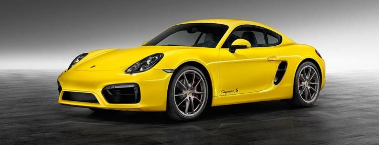 Porsche Cayman S Racing Yellow