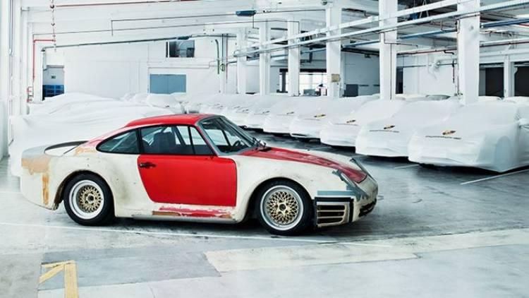 Los proyectos secretos de Porsche