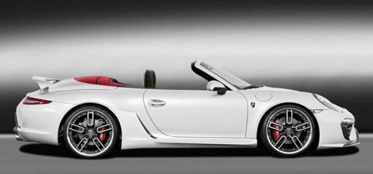 Ración de tuning para el Porsche 911 Cabriolet por Caractere Exclusive