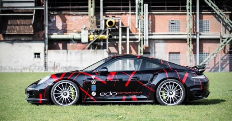 Porsche 911 Turbo S por Edo Competition: 590 caballos para un 0 a 100 en 2.8 segundos