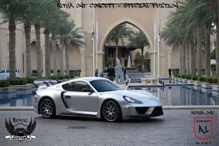 Alpha 1 Concept: un Porsche Cayman anabolizado por Royal Custom