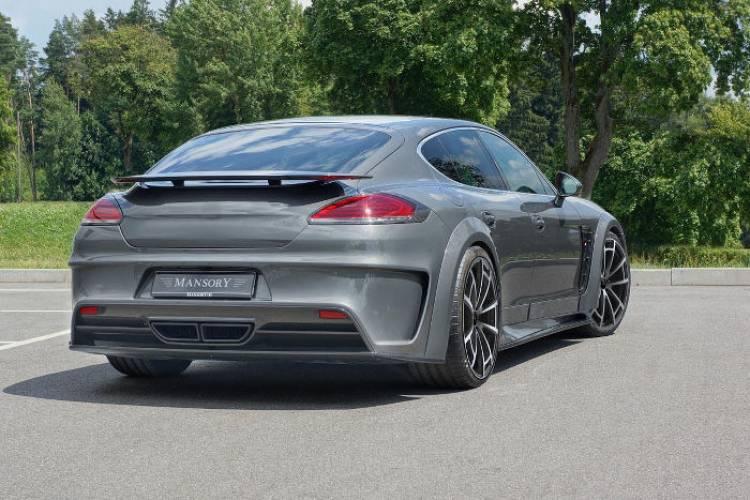Más potencia y un nuevo aspecto para el Porsche Panamera por Mansory