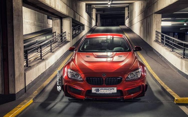 Prior Design presenta un nuevo kit de carrocería para el BMW M6
