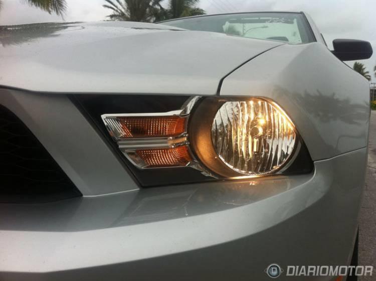 Ford Mustang, prueba en Miami Florida