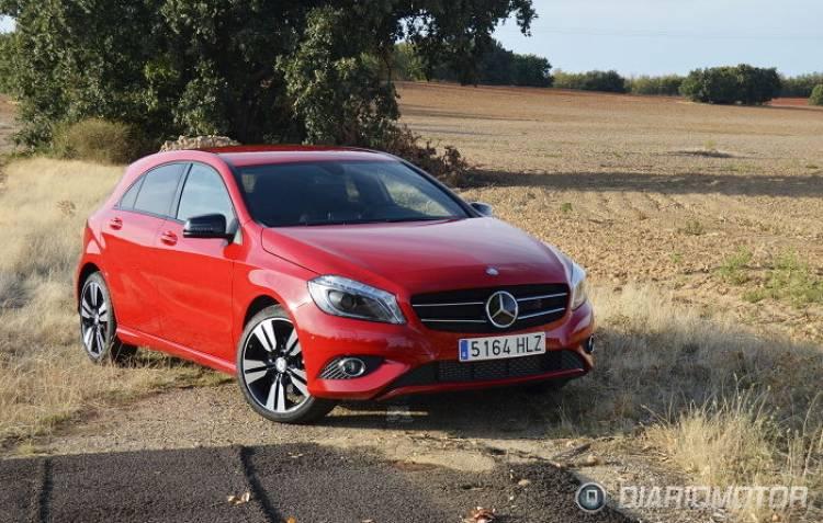 Mercedes Clase A, presentación y prueba en Burgos