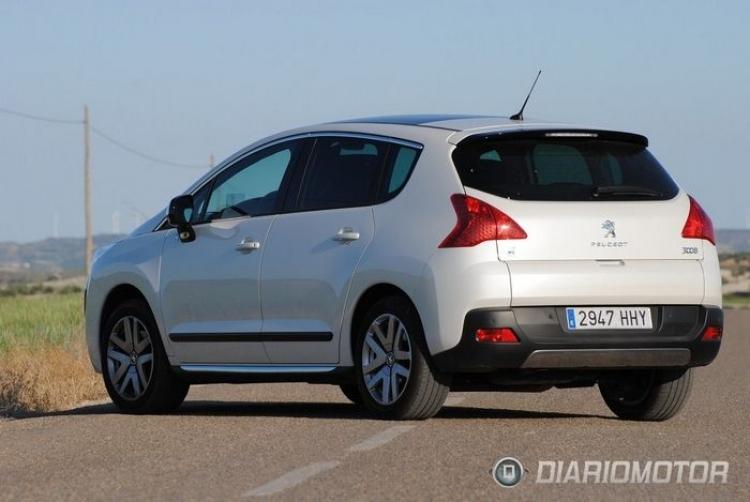 Peugeot 3008 Hybrid4 a prueba