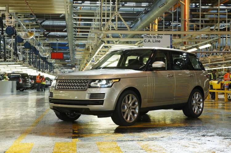 Jaguar Land Rover invierte 370 millones de libras en la producción del nuevo Range Rover