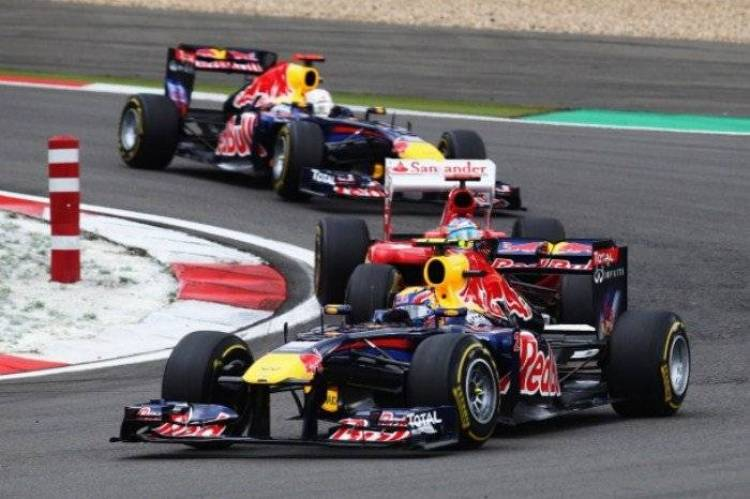 Red Bull - GP Alemania 2011
