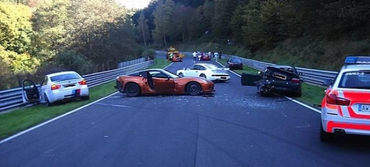 Accidente en Nürburgring