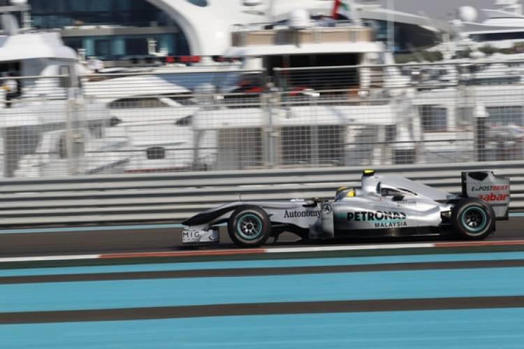 Rosberg (Mercedes GP) - GP Abu Dhabi 2010