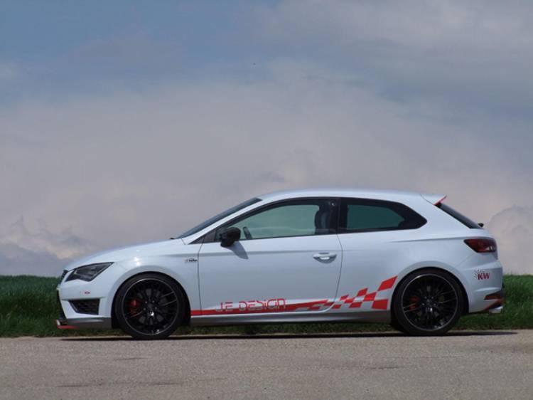 El SEAT León Cupra puede dar más de sí: 350 caballos de la mano de JE Design