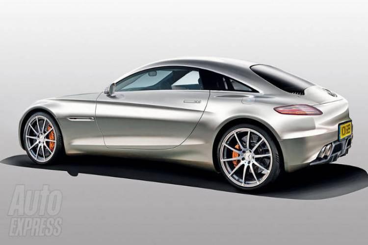 Recreación de Auto Express del futuro Mercedes SLC