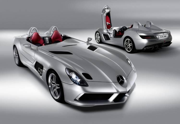 El legado de las flechas plateadas: Mercedes SLR McLaren y SLS AMG