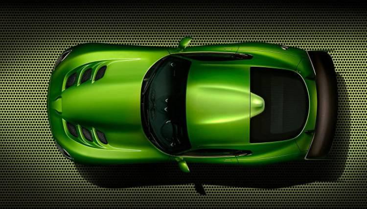 SRT Viper Grand Touring: en verde y con un nuevo equipamiento en el Salón de Detroit