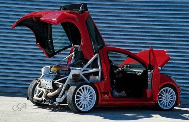 Citroen C2 V6 Sbarro