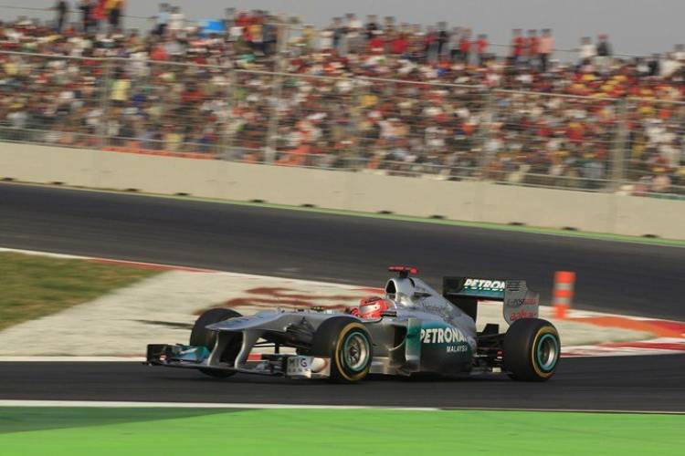 Michael Schumacher (Mercedes) - GP India 2011