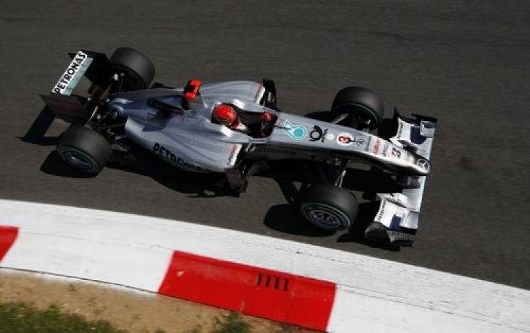 Michael Schumacher (Mercedes GP) - GP Italia 2010