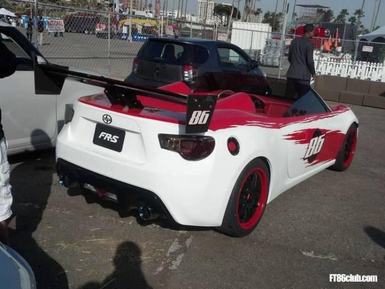 Scion FR-S roadster por Cartel Customs