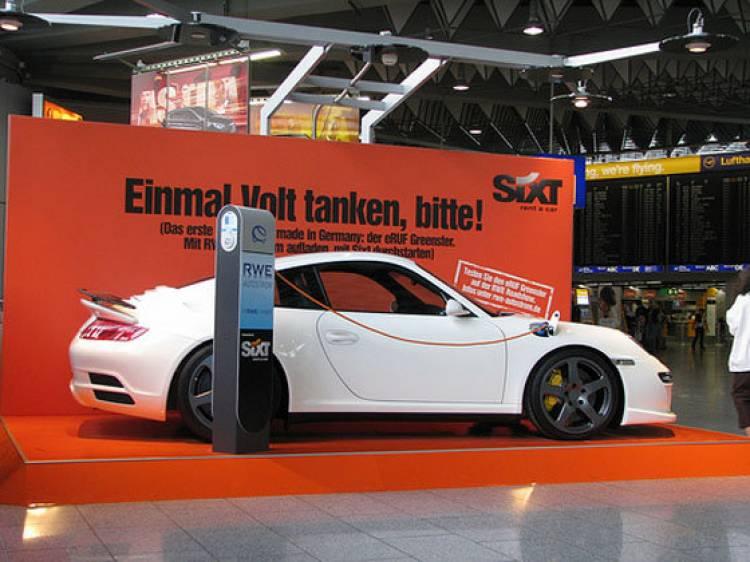 Sixt y coches eléctricos