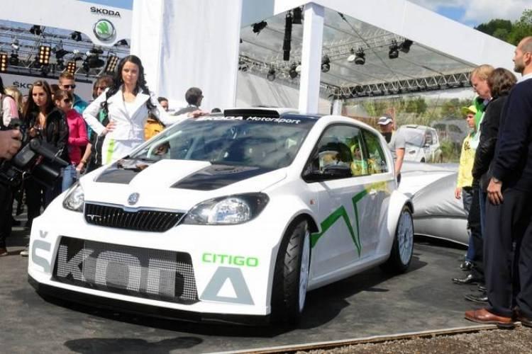 Skoda Citigo Rally en el Wörthersee Tour