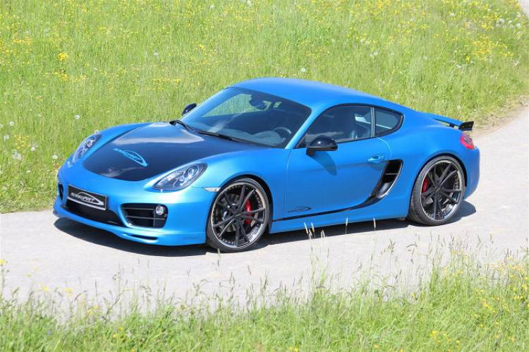 SpeedART pone a punto al nuevo Porsche Cayman