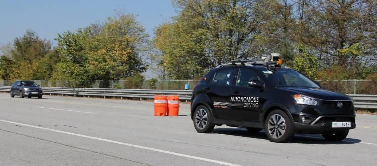 Ssangyong Korando Conducción autónoma