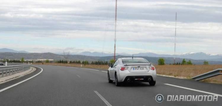 Toma de contacto del Subaru BRZ en Madrid