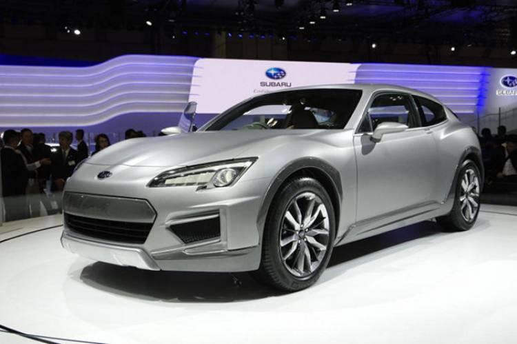 Subaru Cross Sport Design Concept: y el BRZ se convirtió en shootingbrake