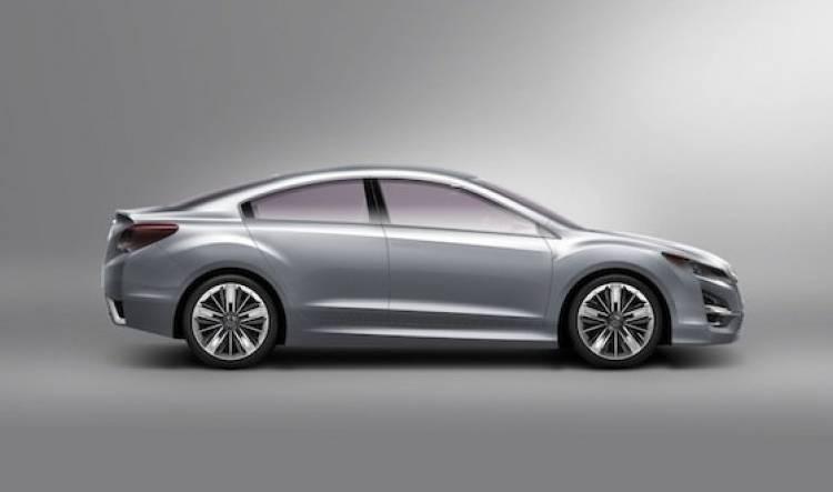 Subaru Impreza Concept (Salón Los Angeles 2010)