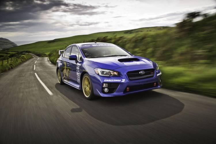 Subaru WRX STI: nuevo récord en la Isla de Man