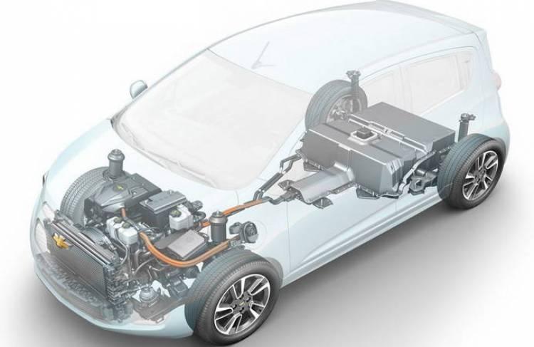 Chevrolet Spark EV: también se presentará en el Salón de Los Angeles