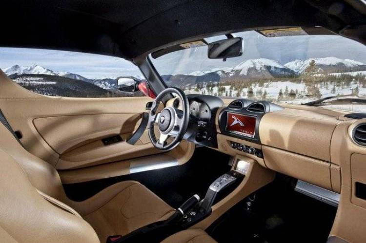Tesla Roadster 2012