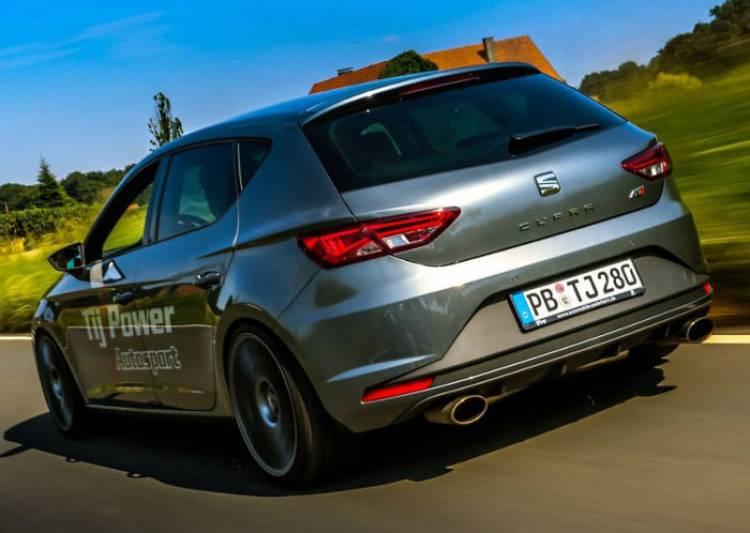 Un SEAT León Cupra de lo más vitaminado: de 280 a 375 caballos de la mano de Tij Power