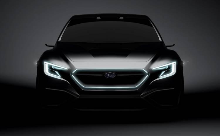Tokio2017_Subaru VIZIV Performance Concept frontal