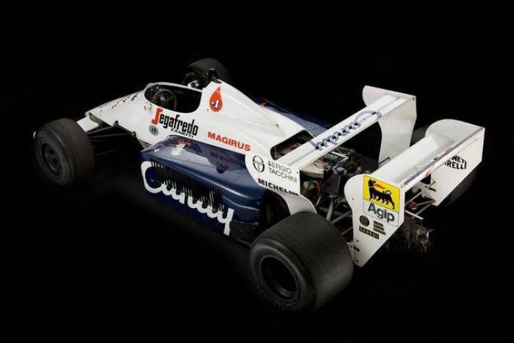 A subasta el Toleman TG184-2, el primer Fórmula 1 de Ayrton Senna